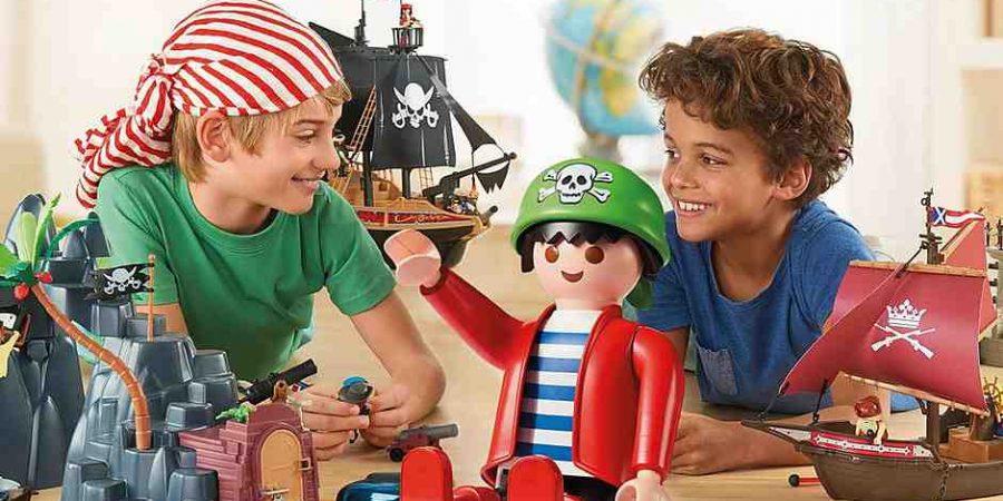 Où trouver un Playmobil géant ?