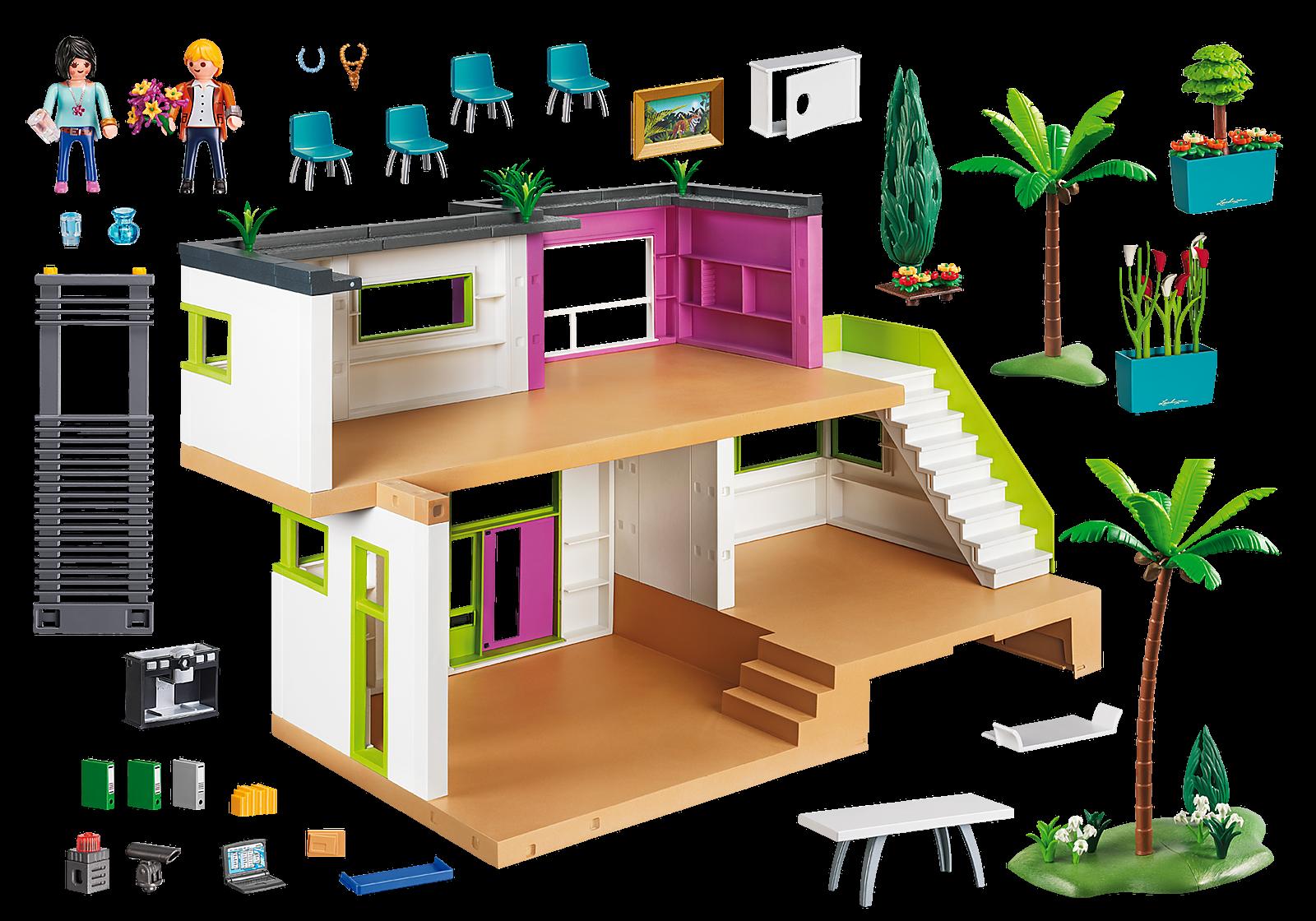 Quel est le prix de la maison moderne Playmobil ?